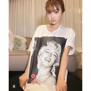エイミーイストワール(eimy istoire)のeimy istoise モンローTシャツ(Tシャツ/カットソー(半袖/袖なし))