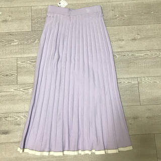 ROPE - ロペ プリーツニットロングスカート