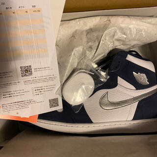 ナイキ(NIKE)の31 Jordan 1 Midnight Navy CO.JP(スニーカー)