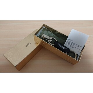 アンダーカバー(UNDERCOVER)のアンダーカバー 革小物 カラビナキ-ホルダー 箱付き(キーホルダー)
