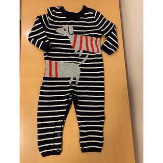 babyGAP - 美品! baby gap ロンパース   セーター ストライプ 80 90