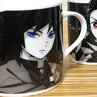 鬼滅の刃 ぎゆう 富岡義勇 モノクローム マグカップ 1個♪