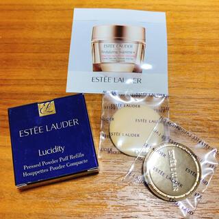 エスティローダー(Estee Lauder)の(新品未使用)Estée Lauder パフ&サンプルセット(その他)
