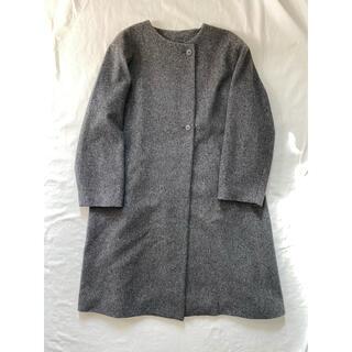 ムジルシリョウヒン(MUJI (無印良品))の無印良品 ノーカラーコート(ノーカラージャケット)