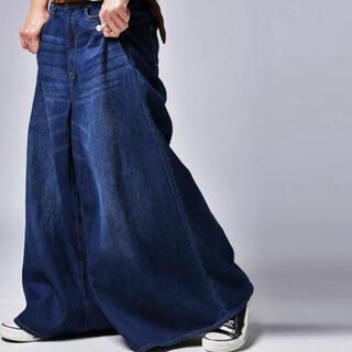 antiqua - アンティカ   スカートみたいなデニム