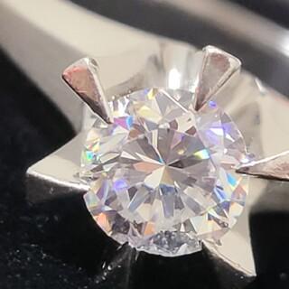 ダイヤモンド リング プラチナ 0.92ct vs