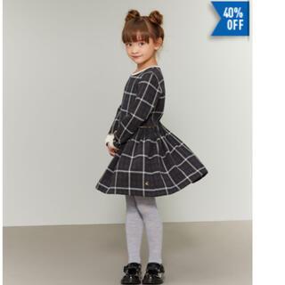 PETIT BATEAU - ☆プチバトー☆ワンピース 4歳サイズ 新品タグ付き