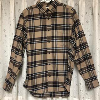 ジーユー(GU)のGU チェック シャツ Mサイズ(シャツ/ブラウス(長袖/七分))