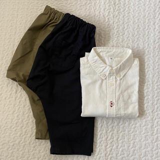 MUJI (無印良品) - 無印良品 シャツ パンツ セット