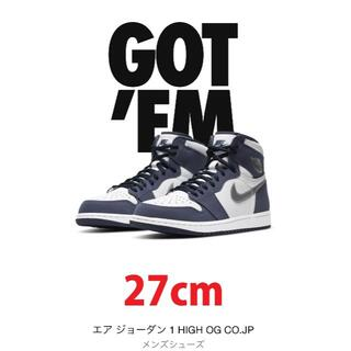 NIKE - NIKE AIR JORDAN1 HIGH OG CO.JPミッドナイトネイビー