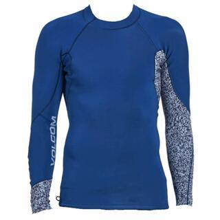 ボルコム(volcom)のボルコム Neo Revo ウエットスーツ タッパ M 長袖 藍 ネイビー 青(サーフィン)