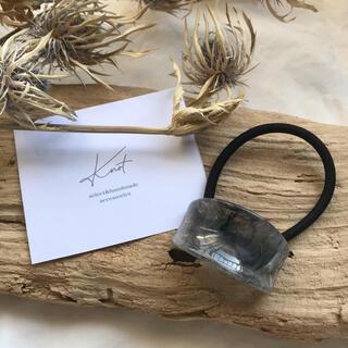 ユナイテッドアローズ(UNITED ARROWS)のSALE!marble curve hair band-gray-(ヘアゴム/シュシュ)
