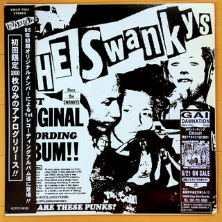 The Swankys / 初回限定1000枚LP! / ORIGINAL