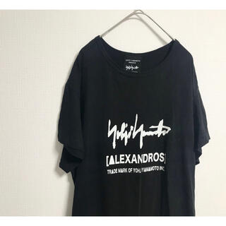 Yohji Yamamoto - Yohji Yamamoto × [Alexandros] ビッグTシャツ
