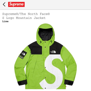 Supreme - The North Face S Logo Mountain Jacket L
