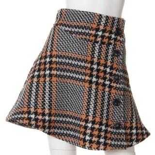 snidel - snidel ♡チェックウールフレアスカート