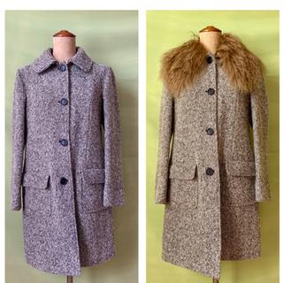 ミュウミュウ(miumiu)のビンテージ miumiu  コート vintage   ファー(ロングコート)