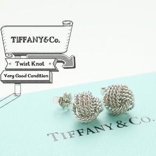 Tiffany & Co. - 新品仕上げ 希少 TIFFANY ティファニー ツイスト ノット ピアス
