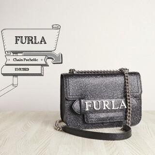 フルラ(Furla)の未使用 美品 FURLA フルラ レザー チェーン ショルダー バッグ(ショルダーバッグ)