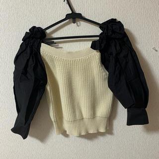 ZARA - ZARA コントラストディテール入りセーター