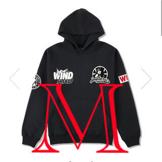 HYSTERIC GLAMOUR - HYSTERIC GLAMOUR WDS HOODIE BLACK 黒M