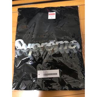 Supreme - supreme chrome logo黒Mシュプリームクロームロゴ