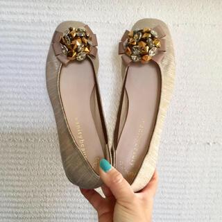 vanitybeauty - 【未使用】vanitybeauty ビジュー付き 靴 フラットシューズ