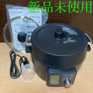 アイリスオーヤマ(アイリスオーヤマ)のアイリスオーヤマ 4.0L 電機圧力鍋 PMPC-MA4-B ネット限定モデル(調理機器)