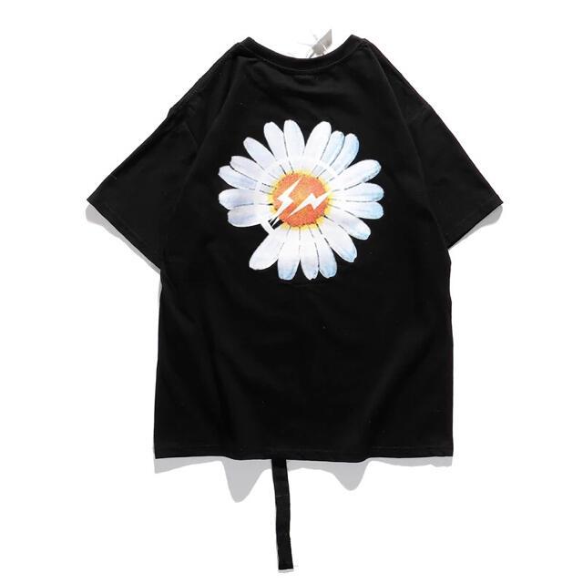 新品未使用 Tシャツ ビックサイズ 韓国 男女兼用 G-DRAGONジードラゴン メンズのトップス(Tシャツ/カットソー(半袖/袖なし))の商品写真