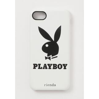 リエンダ(rienda)の新品 PLAYBOY iPhoneカバー iPhoneケース 6 6s 7 8(iPhoneケース)
