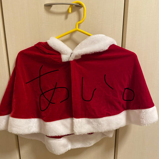 デイジーストア(dazzy store)のdazzy store デイジーストア クリスマス 猫耳 ポンチョ 赤。(衣装)