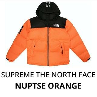 Supreme - Supreme The North Face Nuptse ORANGE M
