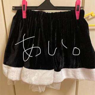 デイジーストア(dazzy store)のdazzy store デイジーストア クリスマス レース スカート 黒。(衣装)