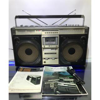 シャープ(SHARP)の内蔵ブルーツゥース変更可能シャープGF-GF-505SB整備済 動作品 (ラジオ)