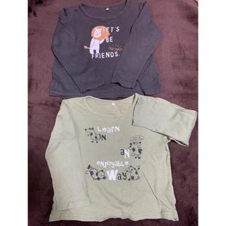 ニッセン(ニッセン)のニッセンキッズロングTシャツ☆120cm2枚(Tシャツ/カットソー)