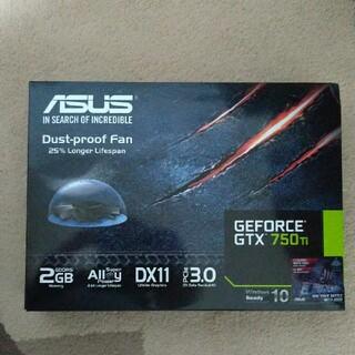 エイスース(ASUS)のグラフックボード ASUS GTX750Ti グラボ(PC周辺機器)
