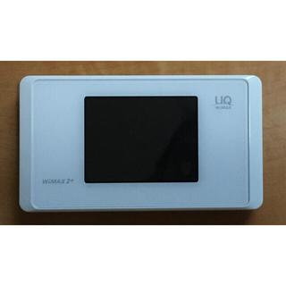 エヌイーシー(NEC)のUQ WiMAX2+ Speed Wi-Fi NEXT WX05 ピュアホワイト(その他)