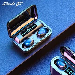 ワイヤレスイヤホン モバイルバッテリー Bluetooth 高音質 イヤフォン