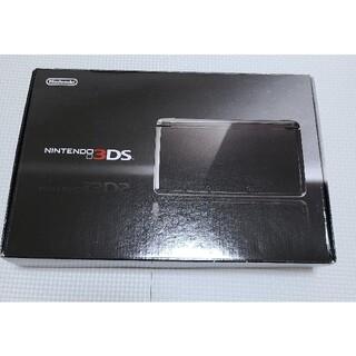ニンテンドー3DS - ニンテンドー3ds  ブラック