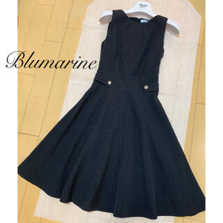 miumiu - Blumarine♡ フラワー膨れ織りワンピース