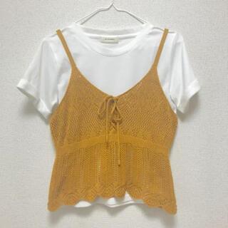 ダブルクローゼット(w closet)のw closet ビスチェ+Tシャツ(Tシャツ(半袖/袖なし))