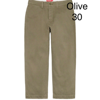 Supreme - Pin Up Chino Pant 30inch