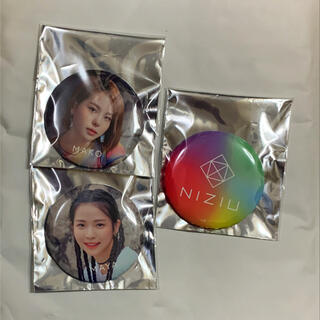 NiziU 缶バッジ 3点セット