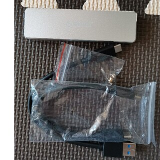 ORICO USB-C NVME M.2 SSDケース、サムソンnvme128(PC周辺機器)