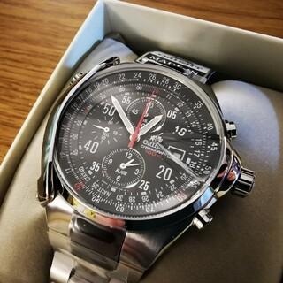 ORIENT - オリエント 腕時計 1/5秒クロノグラフ ストップウォッチ搭載 日本製