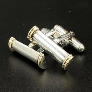 ティファニー(Tiffany & Co.)のティファニー コンビ カフス SV925 K18(カフリンクス)