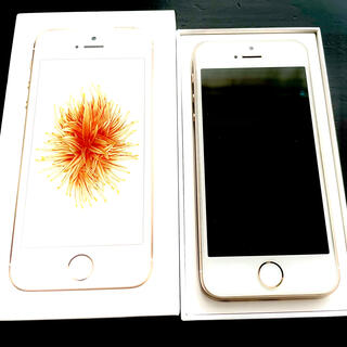 Apple - iPhoneSE 64GB GOLD ゴールド simフリー
