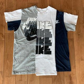 サカイ(sacai)の美中古品 nike sacai ハイブリッドT 再構築 L (Tシャツ/カットソー(半袖/袖なし))