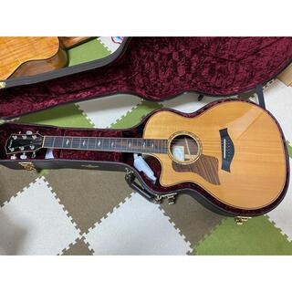 taylor 814ce lefty レフティ 打痕有 メーカーにて調整済(アコースティックギター)