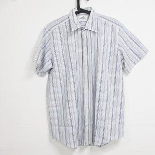 エルメス(Hermes)のエルメス 半袖シャツ サイズ16.1 14 メンズ(シャツ)